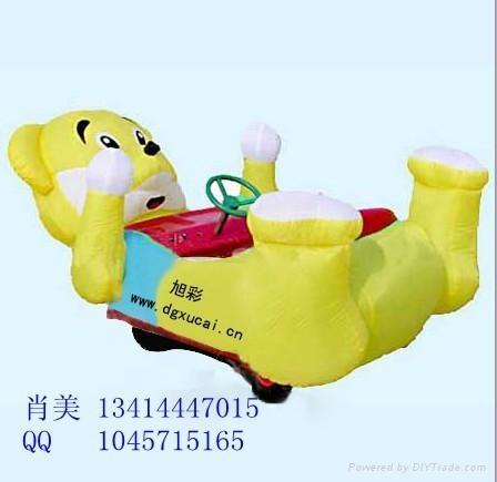 大型遊樂設備充氣玩具電瓶車 1