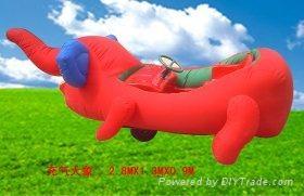 东莞旭彩充气玩具电瓶车 4