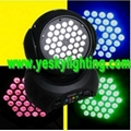 36*4W TRI in 1 LED Moving Head Wash 140W YK-116
