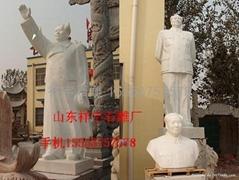 石雕毛主席像人物雕像