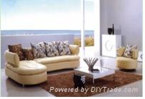 Modern Livingroom Leather sofa set(YH-S706)