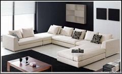 Moder Livingroom Fabric sofa set(YH-S001)