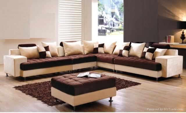 Livingroom Fabric sofa set (China Trading Company) - Living Room