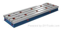 数控龙门移动式镗铣床工作台  1