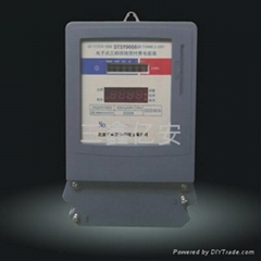供应IC卡智能三相四线液晶电表