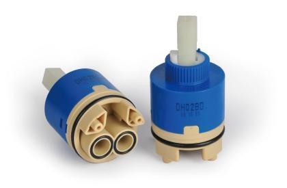 Single lever ceramic cartridge 1
