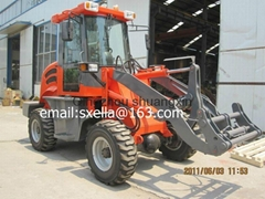 wheel loader ZL15 ce with snow blade