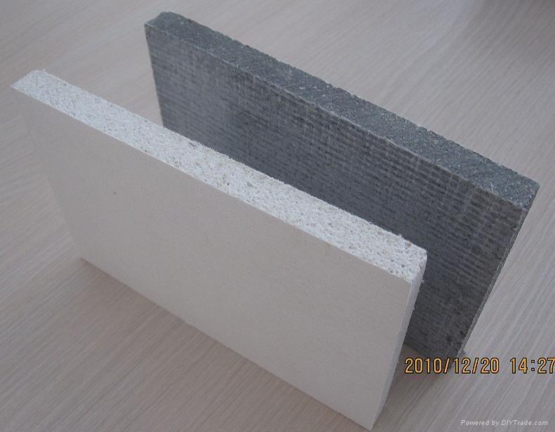 Mgo board grey color mgo board fireproof board 1220mm for Diy sip panels