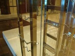 高檔酒店專用不鏽鋼酒櫃加工