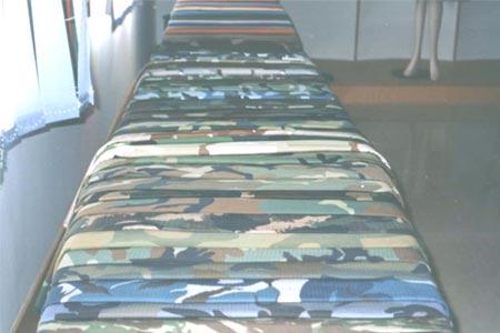 Woodland Green Camouflage Fabric 2