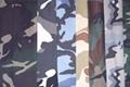 Woodland Green Camouflage Fabric 5