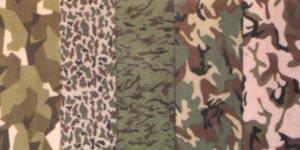 CVC Navy Camouflage Fabric 5