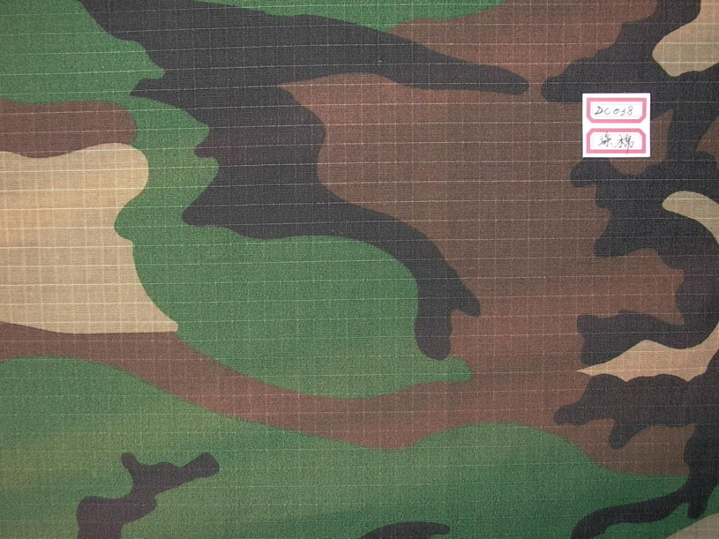 IRR Ripstop Jungle Camouflage Fabric 2