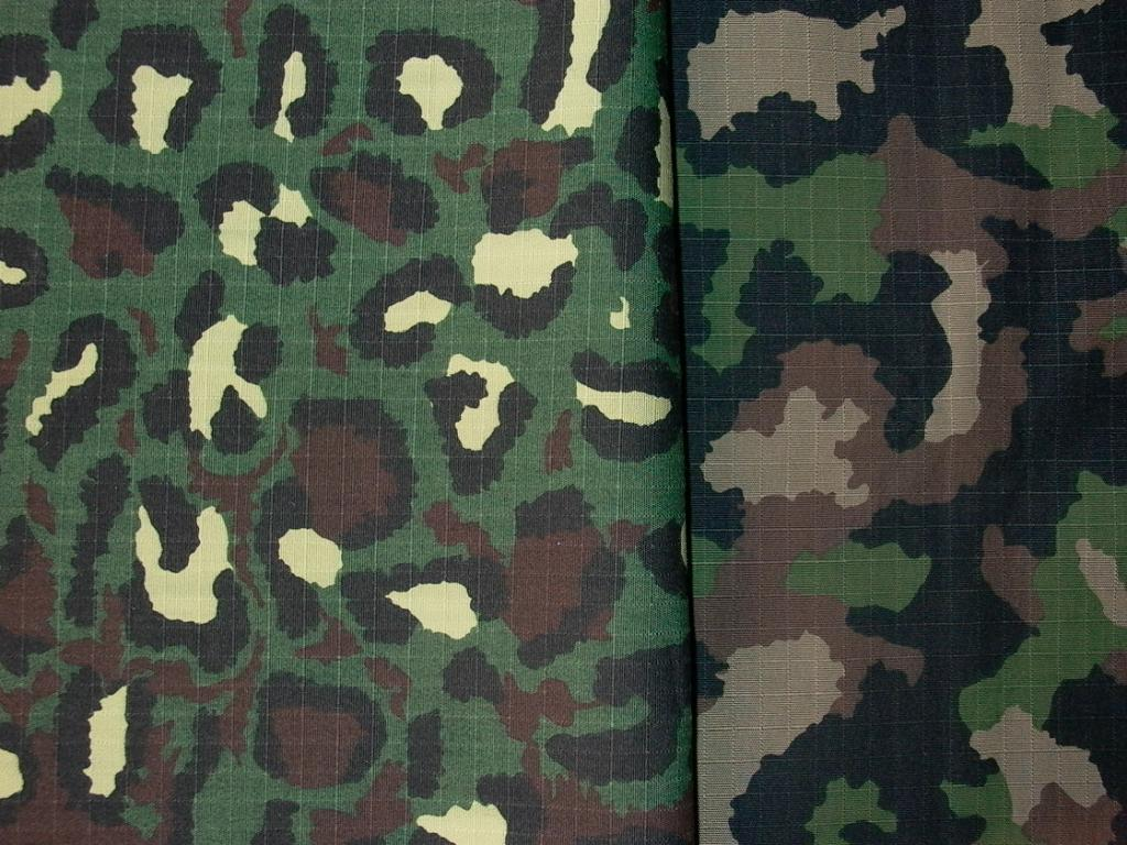 IRR Ripstop Jungle Camouflage Fabric 3