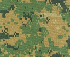 Marine Digital Camouflage Fabric