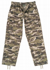 Camouflage BDU Army Pants