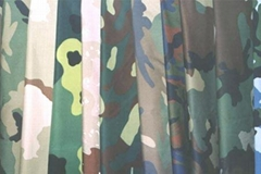 Various Cotton/blended camouflage fabrics