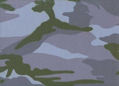 CVC Navy Camouflage Fabric