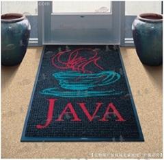尼龍印花橡膠底地毯