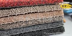 PVC噴絲汽車腳墊