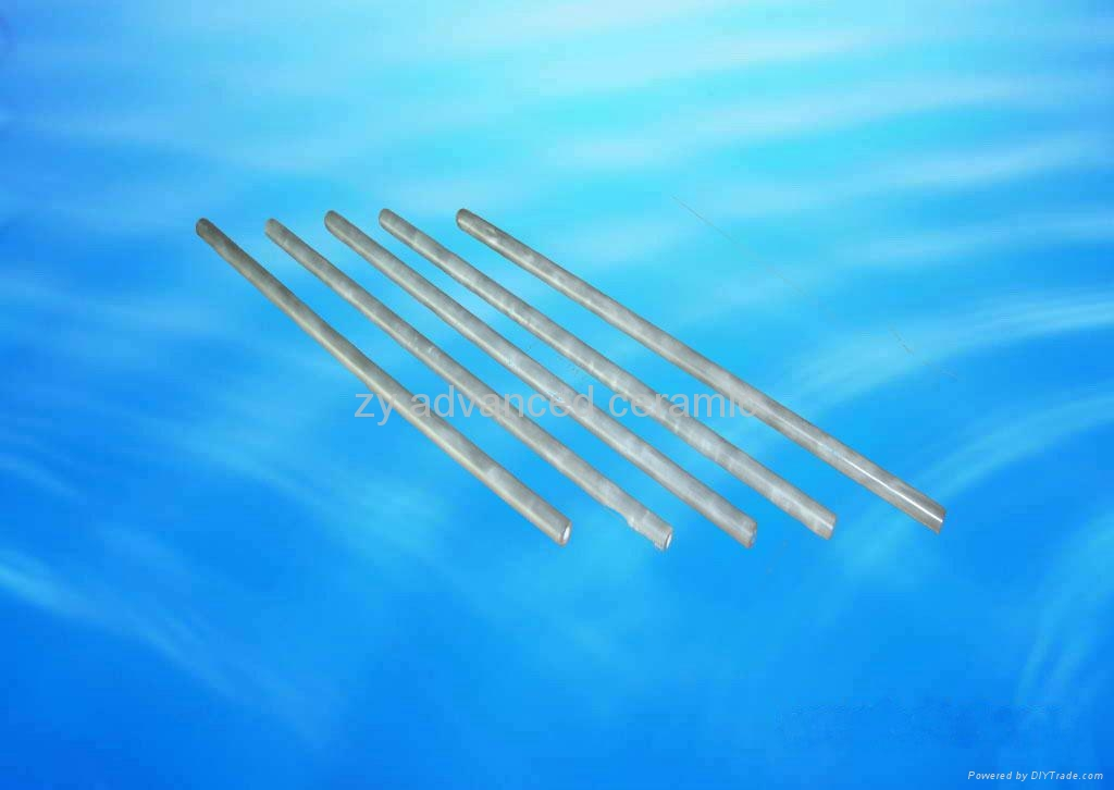 Si3N4 Bond SiC Thermocouple Ceramic Tubes Using In Moten Metals 3