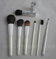 7 pieces make-up brush set