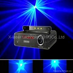 300MWsingle blue Beam laser light