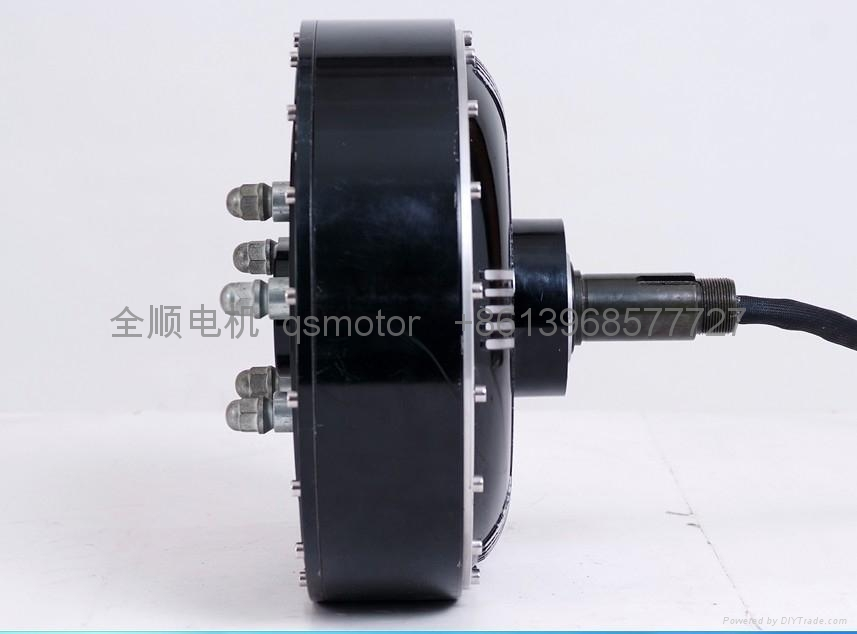Electric Motor Vehicle 5000w 13 500 2 Qsmotor China