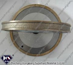 Diamond abrasive wheel
