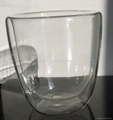 Double walled glass cups tumbers