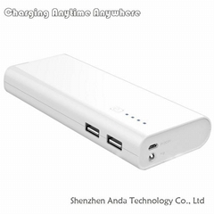 9000-13000mAh optional power bank private mould portable emergency phone charger