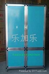 水晶钢化玻璃柜