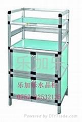 水晶玻璃柜