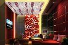 供应尚迪彩色不锈钢天花板-不锈钢中国红蚀刻花纹板系列 1