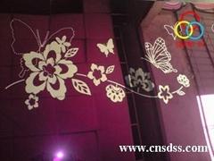 供应彩色不锈钢板-紫罗兰不锈钢蚀刻花