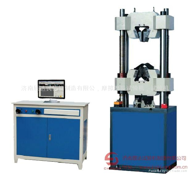 屏显100吨微机控制液压万能试验机; gj钢筋拉伸试验机图片