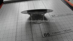 stainless steel mesh sink strainer