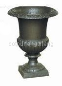 Cast iron/aluminium flower urn/pot