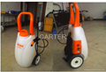 wheeled hand push and multipurpose electric sprayer