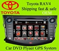 2 din car dvd GPS for Toyota RAV4