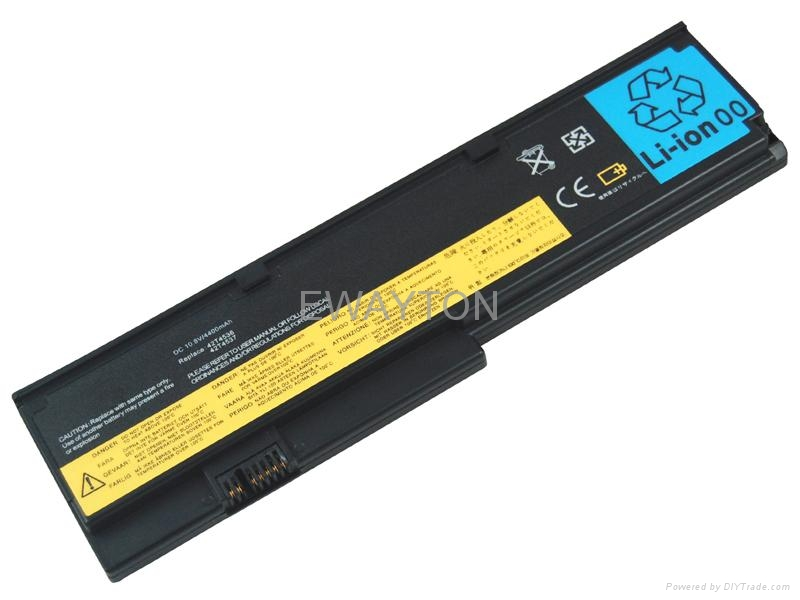 Replacement Laptop Battery for ThinkPad X200 Series 42T4534 6 cells 1