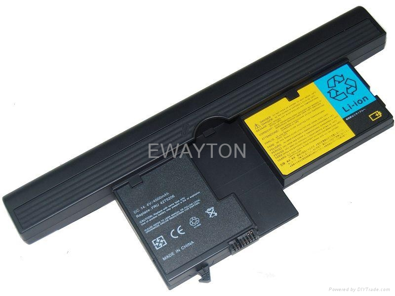 Replacement Laptop Battery for ThinkPad X61 Tablet PC Series 40Y8314 1