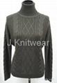 Aran Cable Knit cotton Knitwear