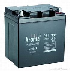 lead acid battery 6-FM-24(L)
