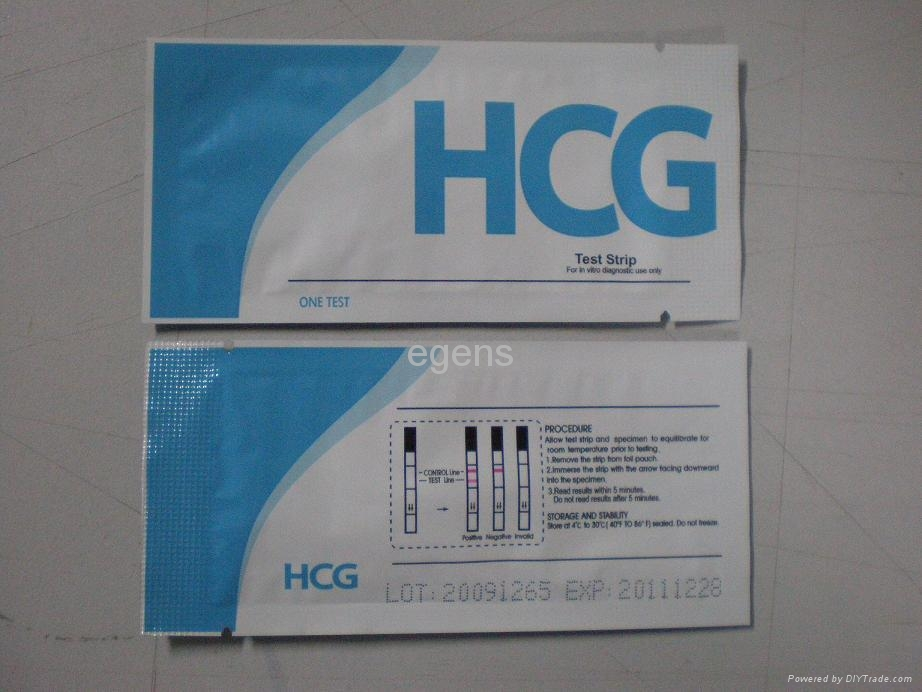 Manufacturers hcg strip tests