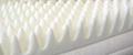 Egg-crate memory foam mattress topper