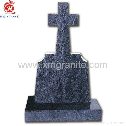 Granite Headstone With Cross Design Cross Headstone Hq