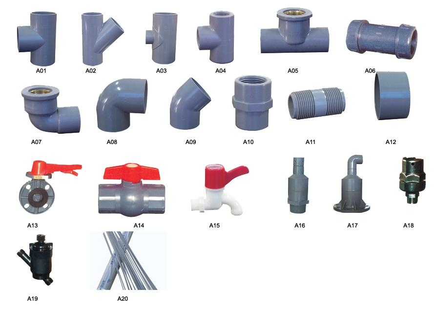 Upvc pipe fittings xff xf china manufacturer
