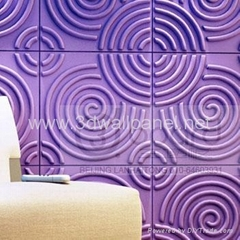 RIPPLE 3dboard,3d wall art decoration panel