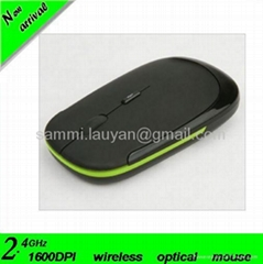 super slim 2.4G optical wireless mouse manufacturer